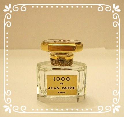 """""""1000"""" - FLACON DE PARFUM EN CRISTAL - EDITION NUMEROTEE"""