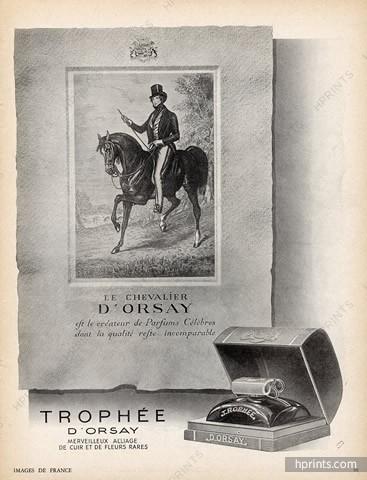 ANCIENNE PUBLICITE DE 1941 PRESENTANT TROPHEE