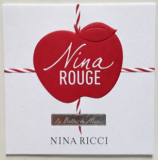 2019 - NINA ROUGE  CARTE PARFUMEE