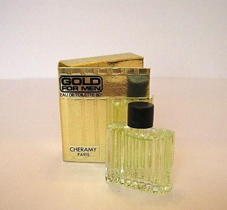 CHERAMY - GOLD FOR MEN - EAU DE TOILETTE