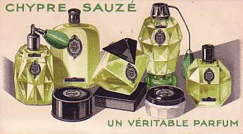 SAUZE - CHYPRE UN PARFUM VERITABLE