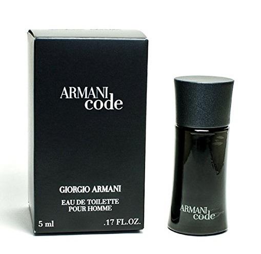 ARMANI CODE : EAU DE TOILETTE POUR HOMME 5 ML