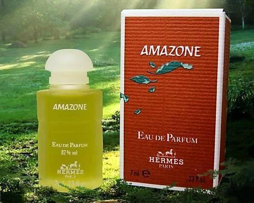 AMAZONE - EAU DE PARFUM 7 ML - FLACON EN VERRE DEPOLI