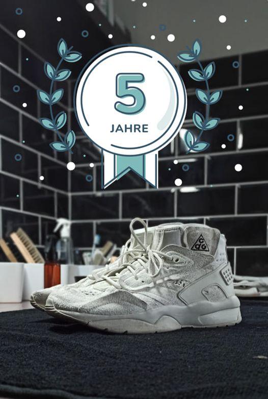 5 Jahre cleanmysneaker.de