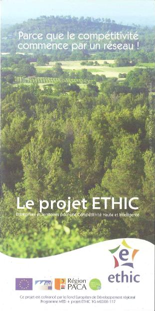 Promotion proposée par le projet ETHIC - 1