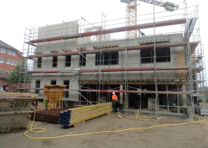 (25.08.2015) aktueller Bautenstand.