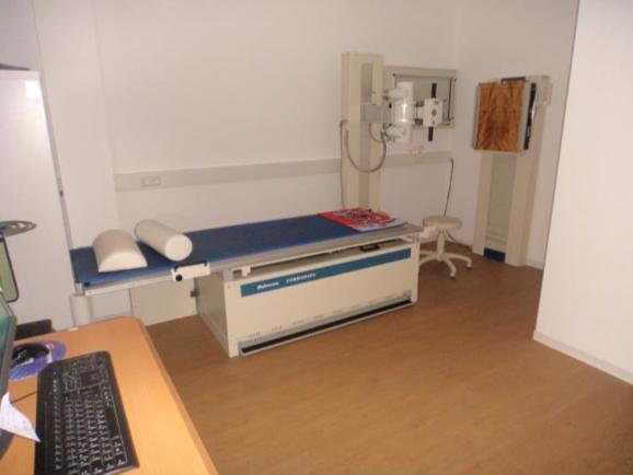 (16.02.2016) Der Röntgenraum ist in Betrieb genommen.