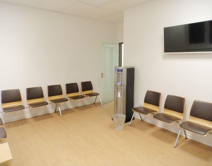Die Wartezimmer sind fertiggestellt.