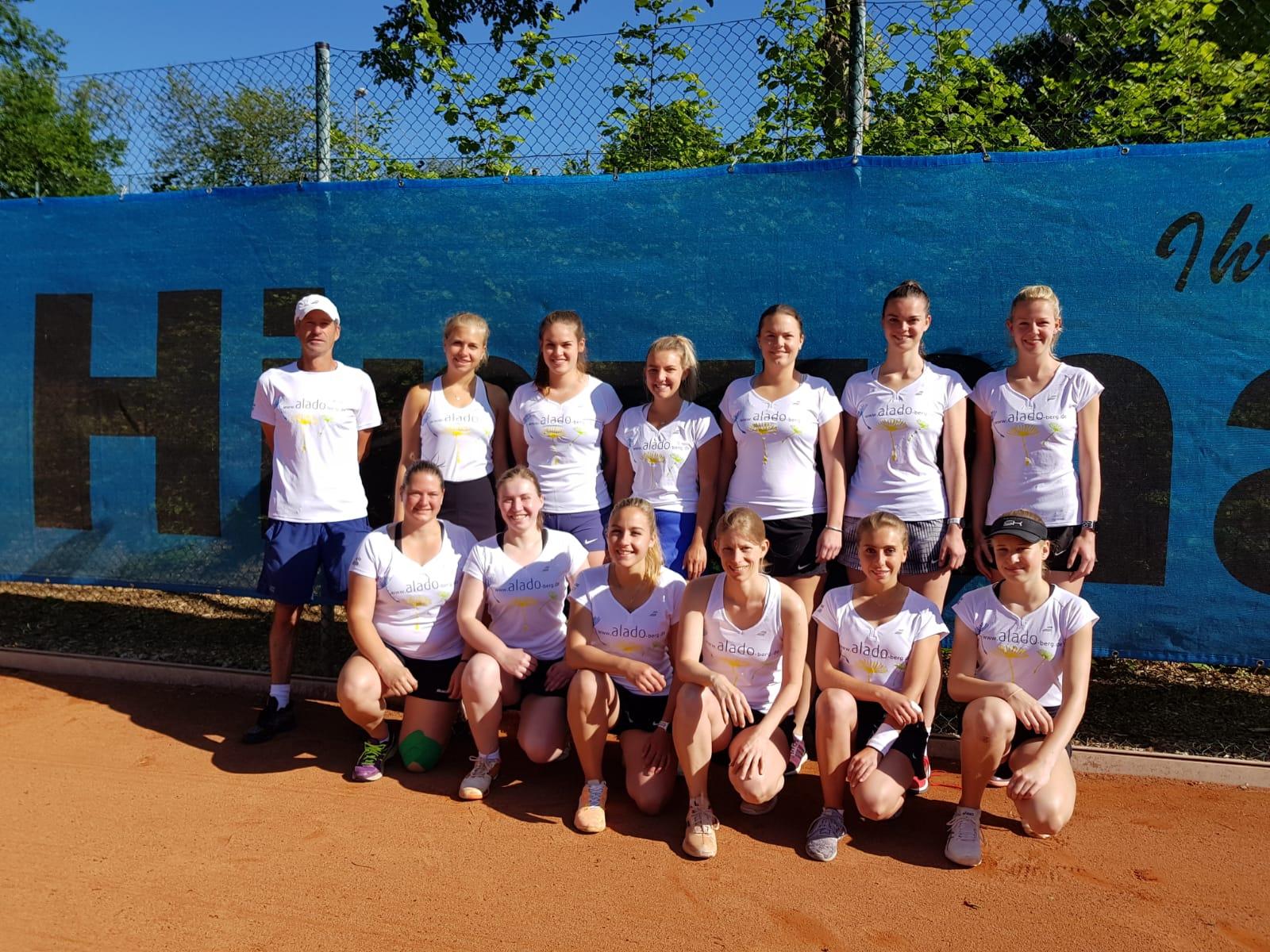 alado unterstützt die Damenteams
