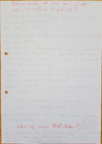 Yoni-Tagebuch Gründe und Ziele