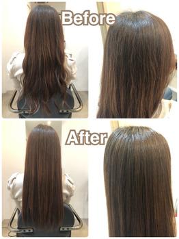 話題沸騰!髪質改善トリートメント◎