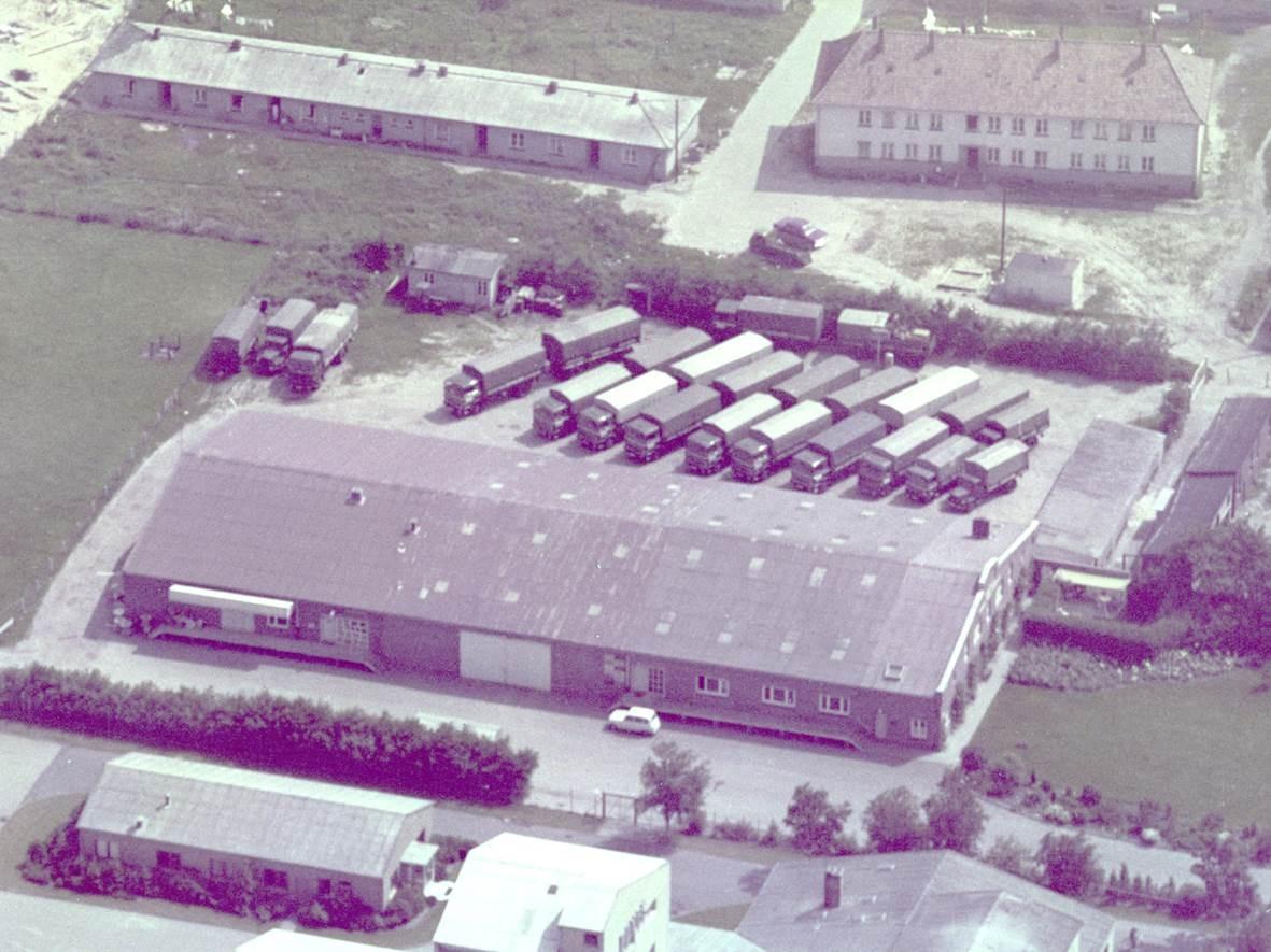 1952 - Umzug zum heutigen Hauptsitz in die Grodener Chaussee 61 nach Cuxhaven