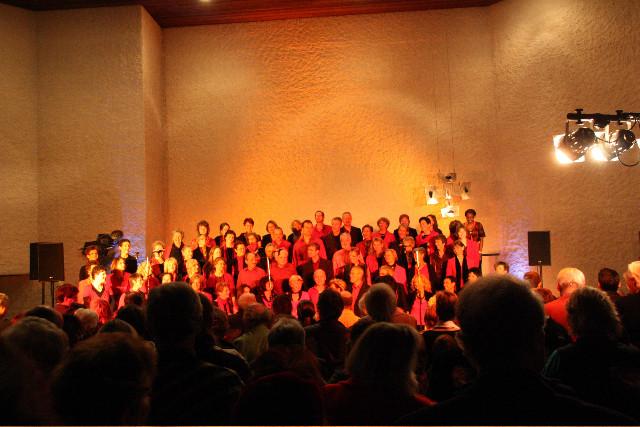 Konzert in der kath. Kirche Zollikerberg in der Regel am 1. Adventssonntag