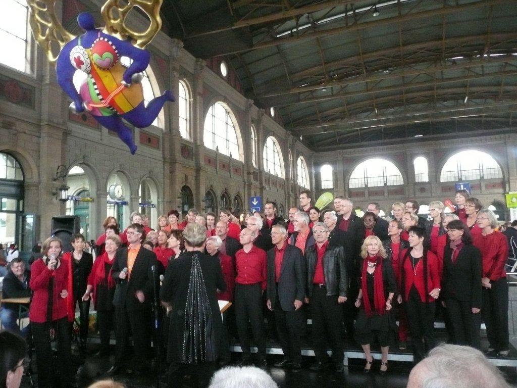 1. Juni 2011 10 Jahre Bahnhofskirche Auftritt mit div. Chören