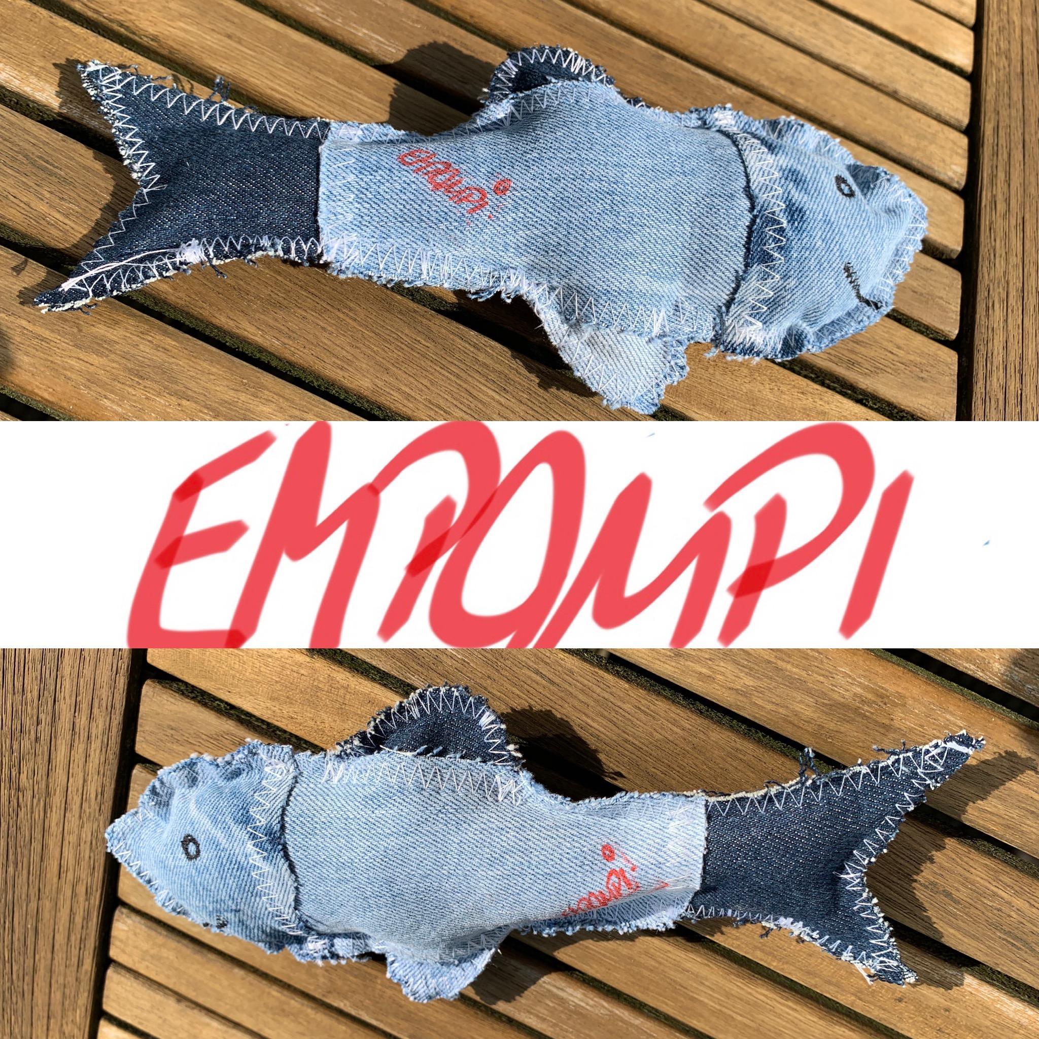 Jeans Fisch klein 10,00 Euro