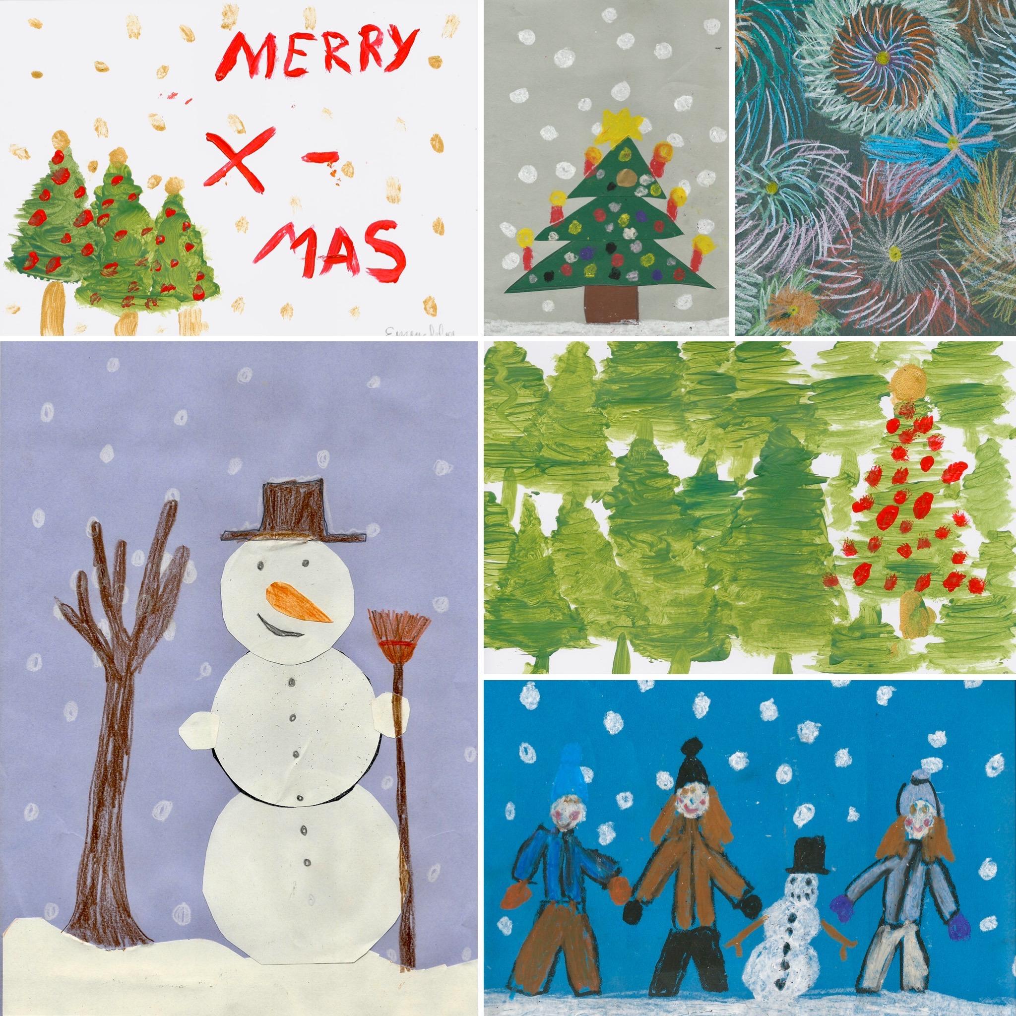 Weihnachtskarten Set 15,00 Euro