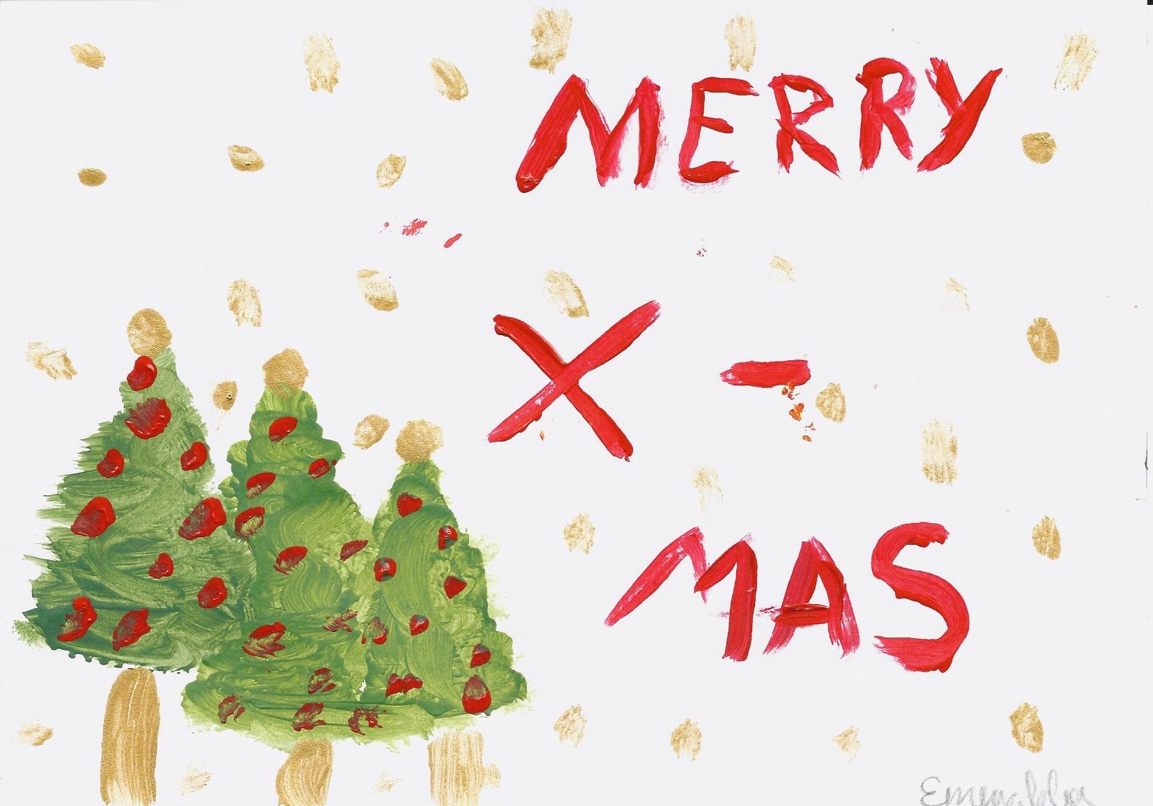 Motiv 5 Weihnachtskarte im Set 15,00 Euro