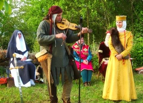 Spielmann Cirrian mit Elisabeth von Kastellaun