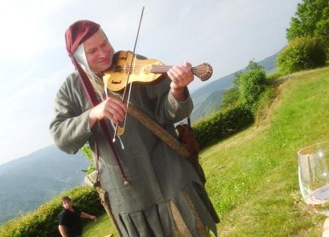 Karsten Zöllner als Cirrian der Spielmann ,