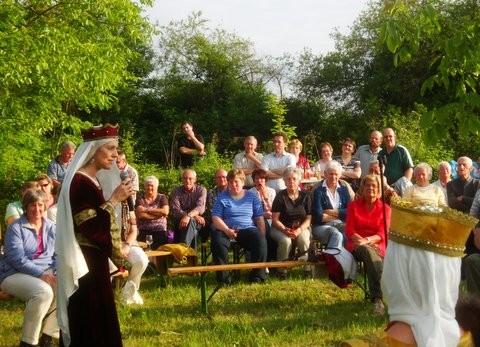 Gäste auf Starkenburg