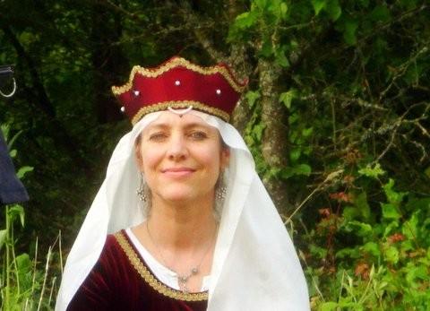 Silvia Kirchgeorg als Loretta von Starkenburg