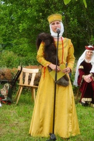 Brigitte Nikolai als Elisabeth von Kastellaun
