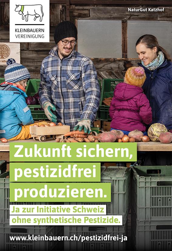 Ja für eine Schweiz ohne Pestizide