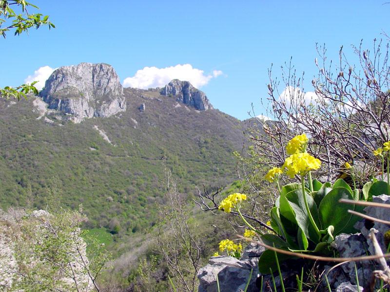 I Corni che sovrastano la Val Ravella