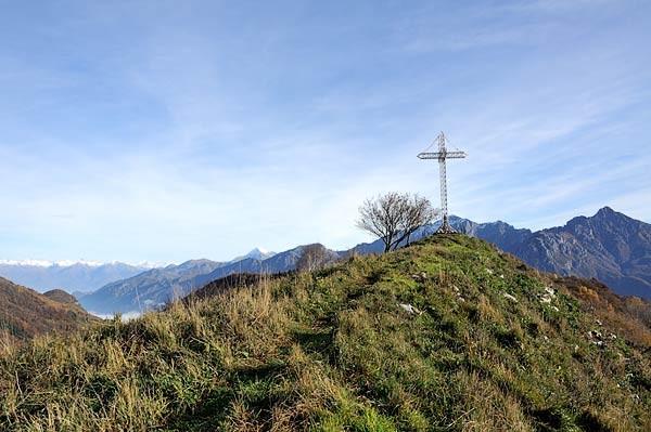 La cima Del Monte Megna