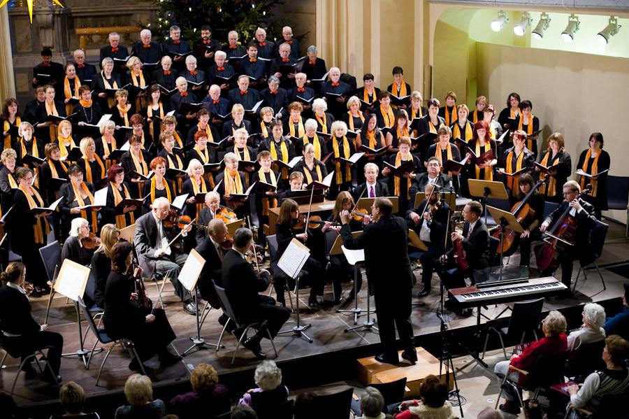 Stadtchor Freiberg e.V. mit dem Collegium Musicum der Bergakademie Freiberg