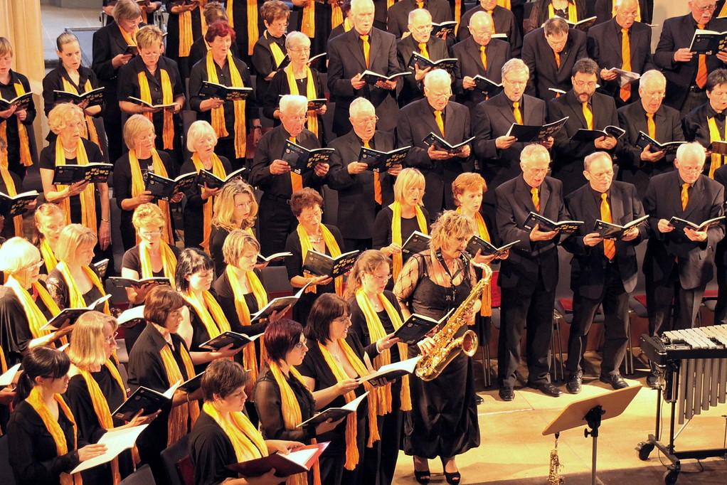Anja Bachmann am Saxophon