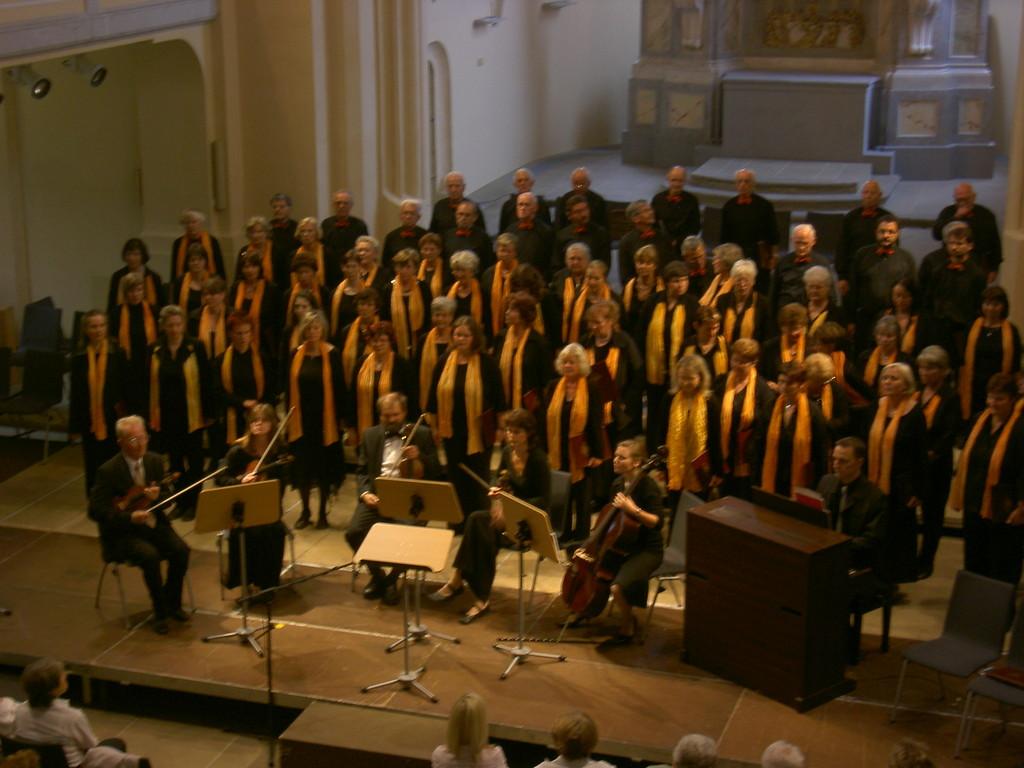Stadtchor Freiberg e.V. mit dem Collegium musicum