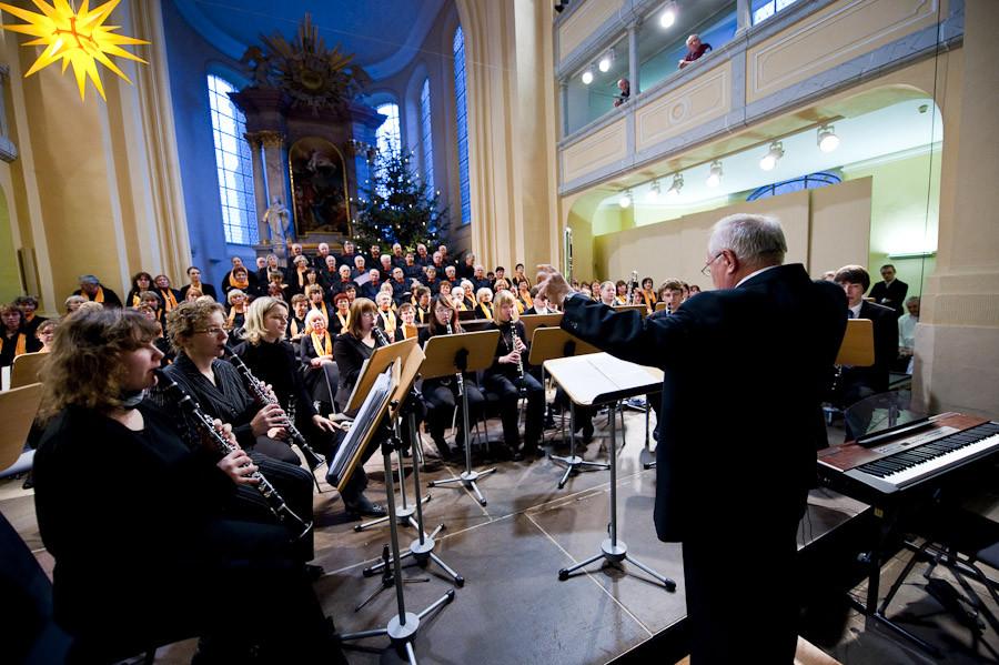 Zwickauer Klarinettenensemble unter Leitung von Frank Klüger