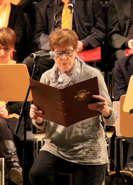 Hannelore Funk liest eine Weihnachtsgeschichte zum Schmunzeln