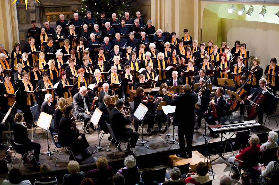 Stadtchor Freiberg e.V. mit dem Collegium Musicum der Bergakademie Freiberg unter Gesamtleitung von Peter Rülke