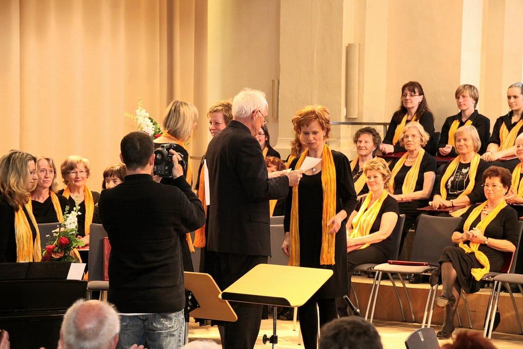 Ehrungen zu 25 Jahren Chormitgliedschaft