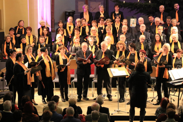 """Der """"Kleine Chor"""" mit männlicher Verstärkung"""