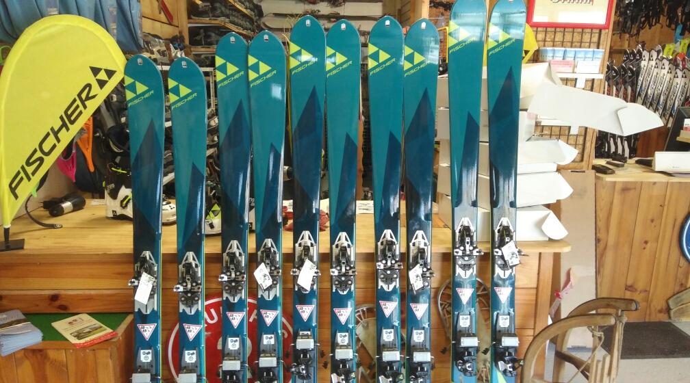 Ski de Randonnée Fischer fixation low tech - Location Point Glisse - Tarascon sur Ariège
