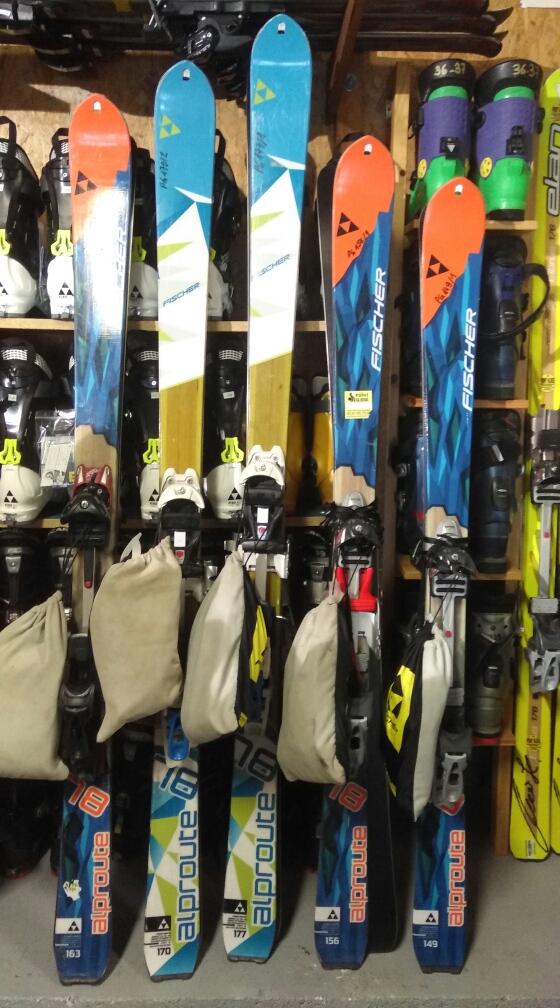 Ski de Randonnéer fixation Diamir - Location Point Glisse - Tarascon sur Ariège
