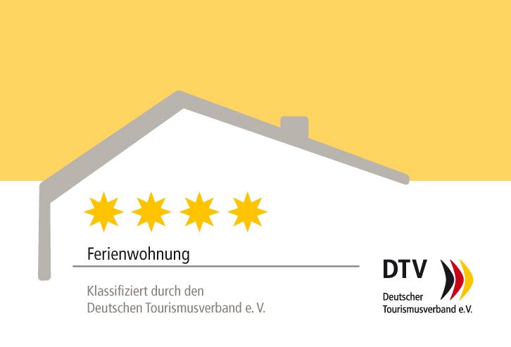 4 Sterne Zertifizierung durch den DTV