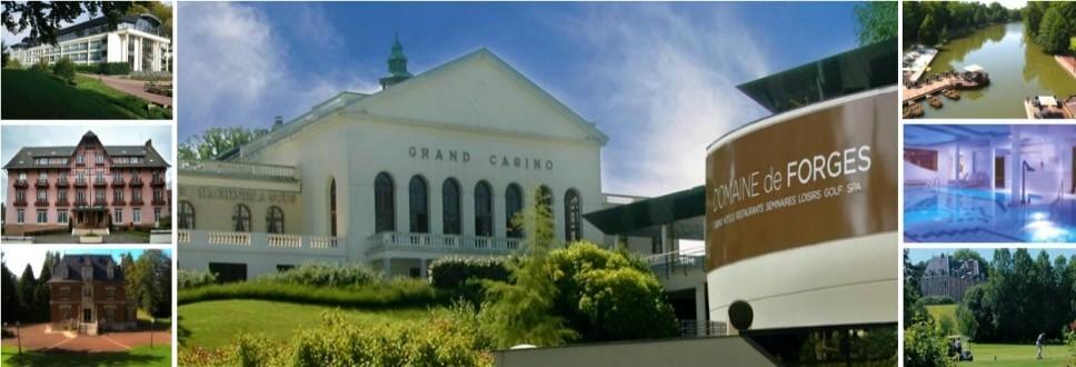 迪沃恩庄园: 法国最豪华的娱乐场,和装饰风艺术的四星级迪沃恩大酒店!