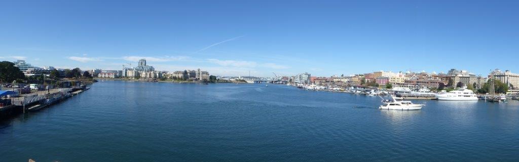 Letzter Blick zurück auf Vancouver Island