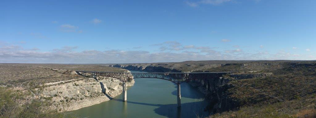 Brücke über den Rio Pecos