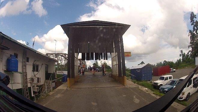 Grenzübergang nach Costa Rica an der Karibikseite