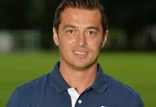 Coach der U 23 von Hertha BSC Ante Covic. Foto Christian Zschiedrich