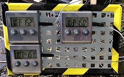 Turbo-Heubedampfer Temperatur: Prozeßsteuerung Modul 1 und 2