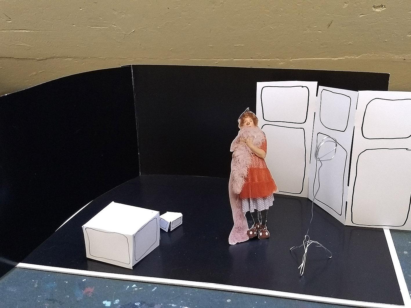 Zuerst das Bühnenmodell