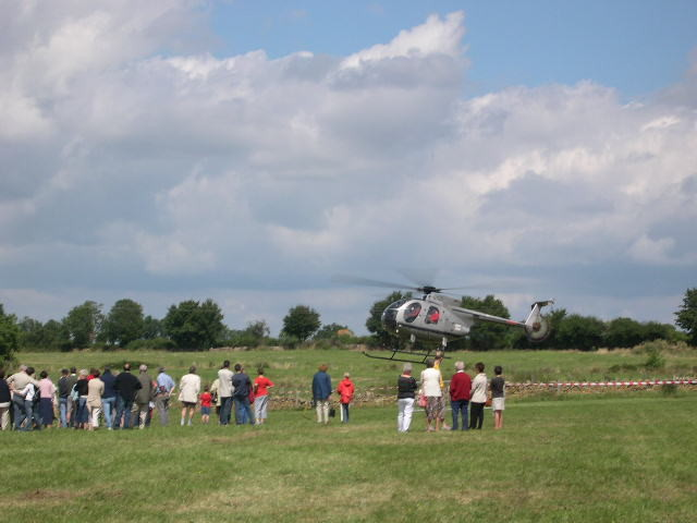 2005 Baptème de l'air en Hélicoptère