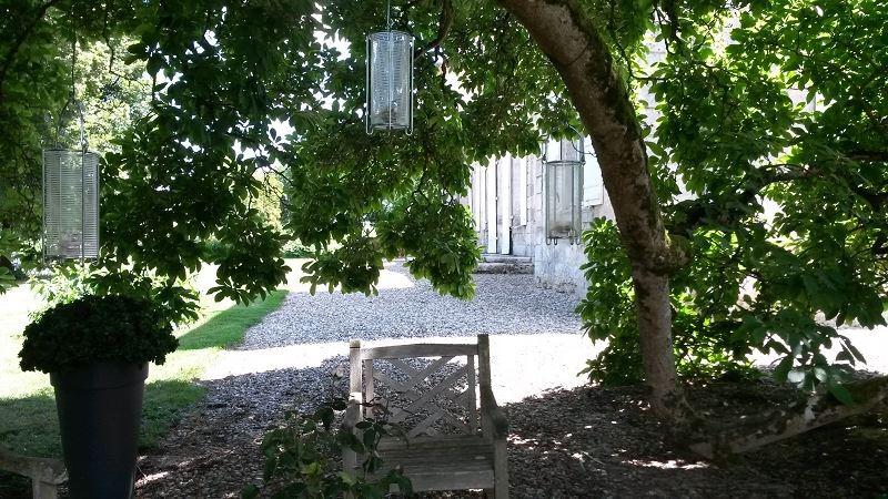 Détail jardin clos