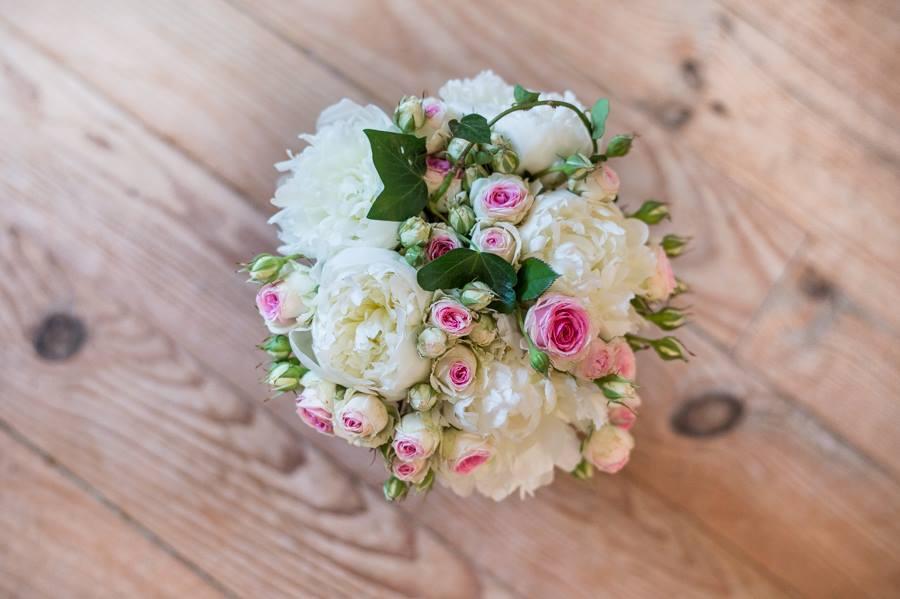 """Bouquet de mariée """"Stéph'Fleurie"""" / Crédit Photo Franck Petit"""